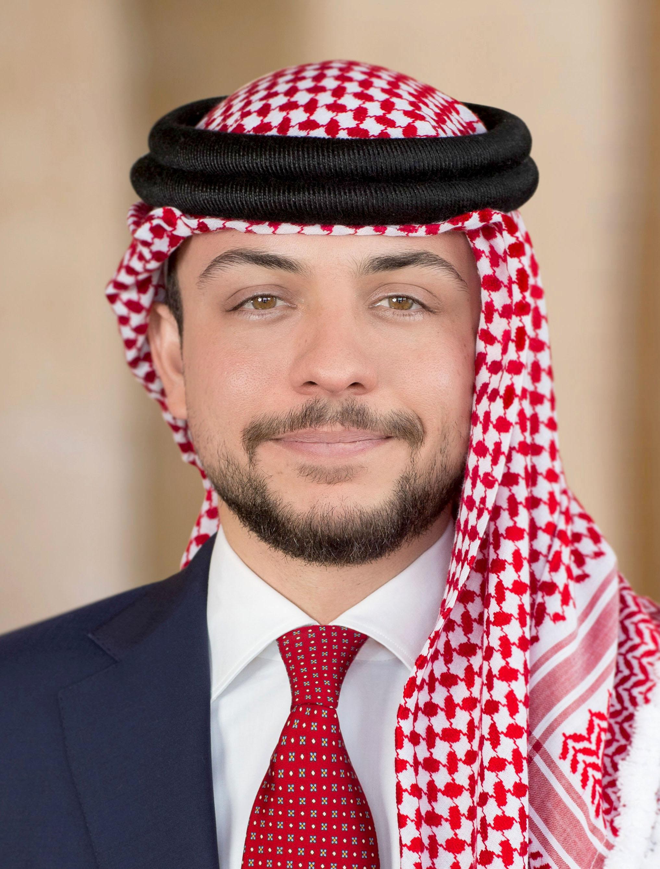 سمو الأمير الحسين بن عبد الله الثاني ولي العهد الموقع الرسمي