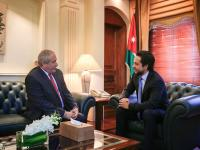 Crown Prince visits Foreign Ministry