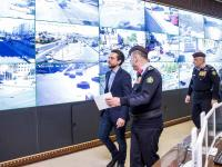 Crown Prince visits Public Security Directorate