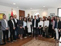 Crown Prince meets with Jordanians studying at US universities