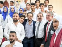 Crown Prince visits Creativity Club, Karak Castle