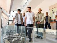 الأمير الحسين يفتتح مركز زوار محمية الشومري للأحياء البرية في الأزرق