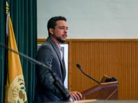 Crown Prince visits Al Hussein bin Talal University, addresses students
