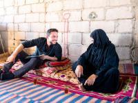Crown Prince, in surprise visit, checks on family in Wadi Araba