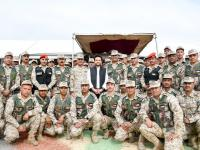 Crown Prince attends military exercise in Southern Military Region