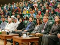 "Crown Prince attends youth debate on ""University Education vs. Vocational and Technical Education"""