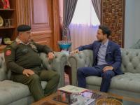 نائب جلالة الملك، ولي العهد يزور القيادة العامة للقوات المسلحة
