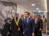 Crown Prince visits Bahrain Institute for Pearls and Gemstones