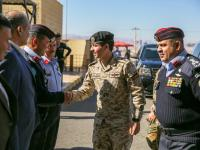 Regent visits Aqaba Police Department