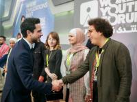 Deputising for King, Crown Prince attends opening of third edition of World Youth Forum in Sharm El Sheikh