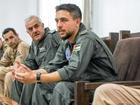 Crown Prince visits Muwaffaq Salti Airbase