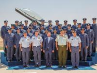 Deputising for King, Crown Prince attends graduation of air force cadets