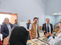 Crown Prince pays surprise visit to Madaba Institute for Mosaic Art and Restoration
