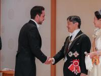 Deputising for King, Crown Prince attends Japan emperor's enthronement