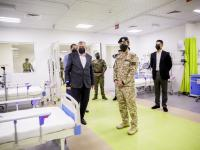 Crown Prince inaugurates 246-bed Maan Field Hospital for COVID-19 patients