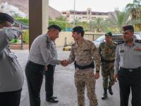 Crown Prince visits Aqaba Civil Defence Directorate
