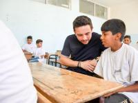 Crown Prince, in surprise visit to Madaba school, checks on progress of 'Bassma' national summer programme