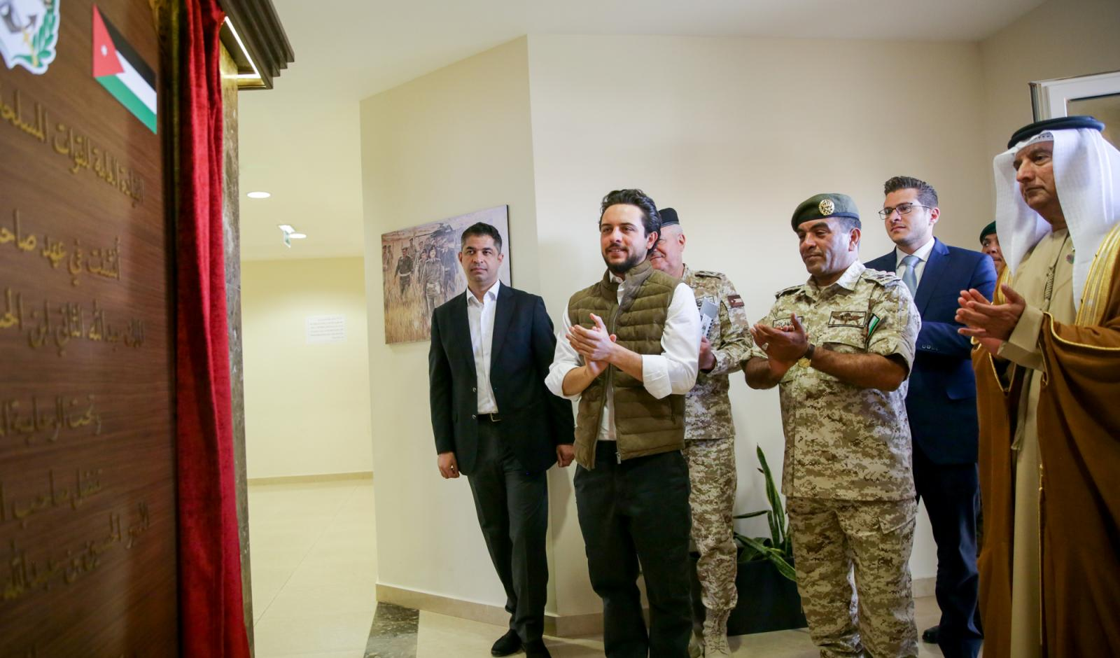 Deputising for King, Crown Prince inaugurates JAF's Sheikh Mohamed bin Zayed Al Nahyan Training City in Zarqa