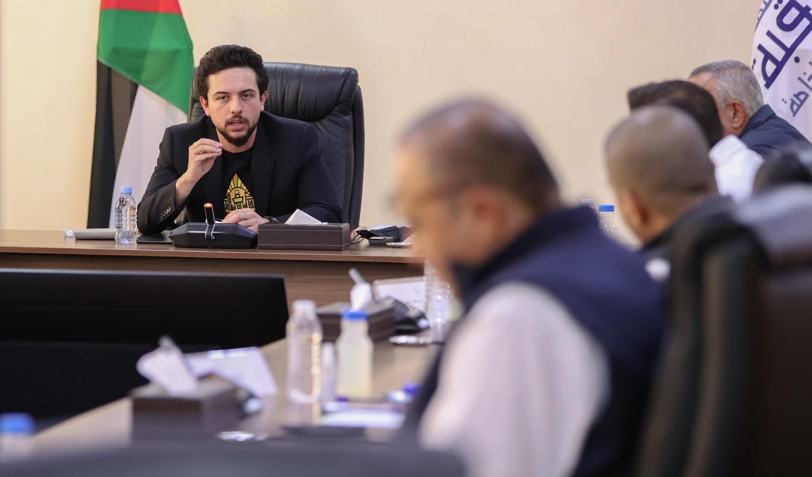 Crown Prince follows up on implementation of Aqaba strategic plan