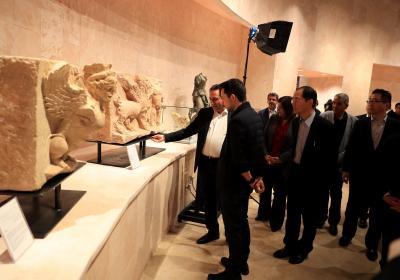 Deputising for King, Crown Prince inaugurates Petra Museum