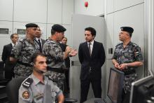 H.R.H Crown Prince visit to the Jordanian General Directorate of the Gendarmerie