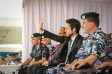 H.R.H Crown Prince Al Hussein Bin Abdullah II attends the PSD celebrations on the occasion of National Celebration