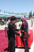 HRH Crown Prince Al Hussein Bin Abdullah at Mu'tah University graduation