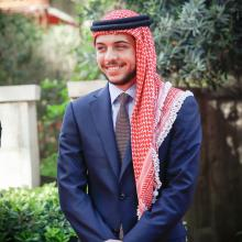 Crown Prince Al Hussein Bin Abdullah II at Jordan's 69th Independence Day Celebrations