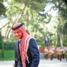 H.R.H. Crown Prince Hussein Bin Al Abdullah at Jordan's 69th Independence Day Celebrations