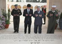 H.R.H Crown Prince Al Hussein Bin Abdullah visit to the Royal Cemetery