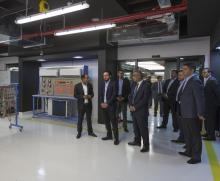 HRH Crown Prince Al Hussein bin Abdullah II visits Luminus Education Group