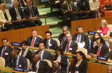 HRH Crown Prince Al Hussein bin Abdullah II at the address at the 72nd Session of the General Assembly of the United Nations