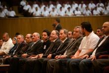 """سمو الأمير الحسين بن عبدالله الثاني، ولي العهد، يرعى حفل تخريج مبادرة """"حقق""""- كانون الثاني- ٢٠١٤"""