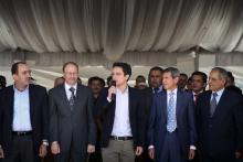 سمو الأمير الحسين بن عبدالله الثاني، ولي العهد، يرعى حفل إطلاق مخيمات الحسين للعمل والبناء- ٢٠١٣