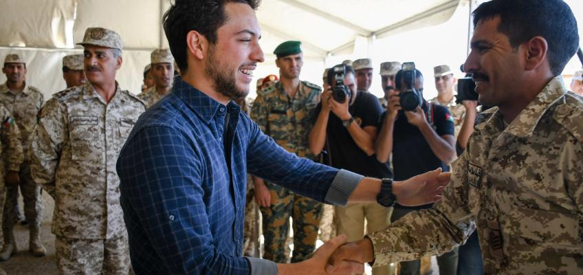 Crown Prince visits Southern Military Region command