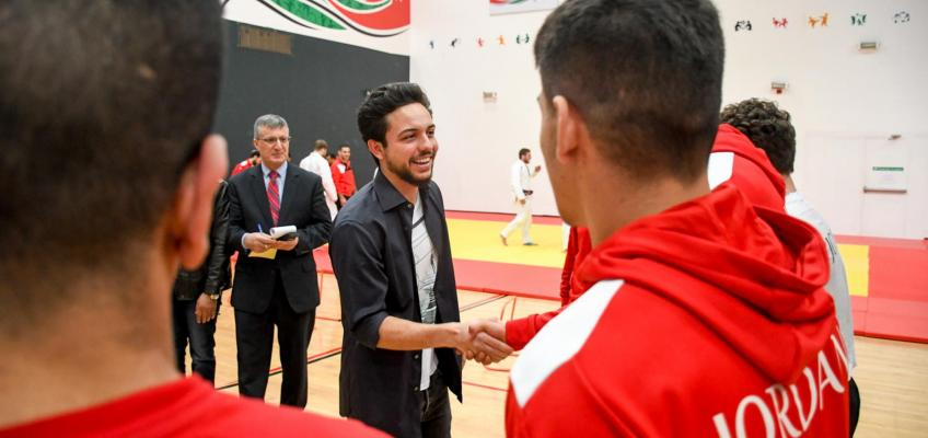 Regent visits Olympic Preparation Centre