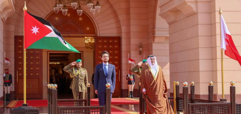 Crown Prince arrives in Bahrain