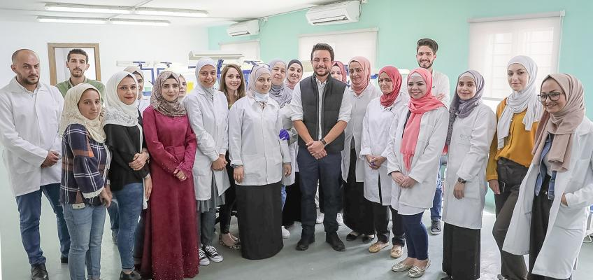 Crown Prince visits leading Jordanian start-up on Labour Day