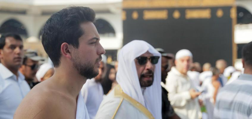 Crown Prince performs Umra