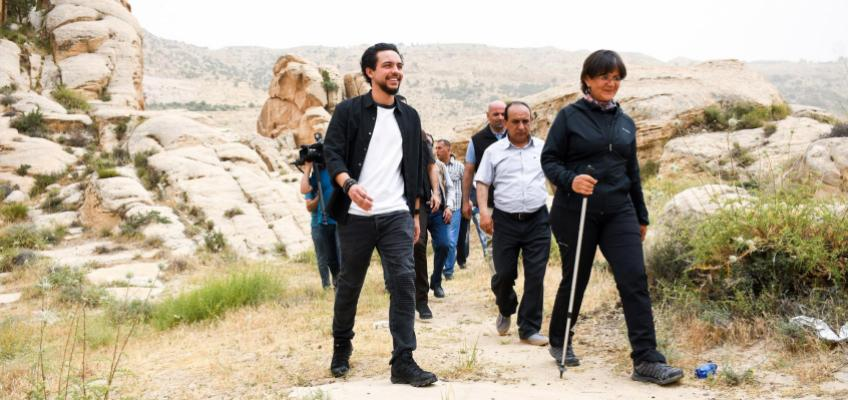 Crown Prince visits Al Sele Village, urges due attention to heritage, archaeological sites