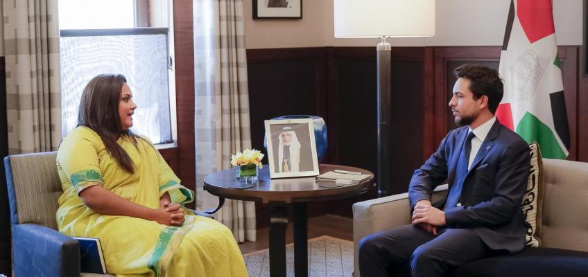 Crown Prince receives UN secretary general's envoy on youth