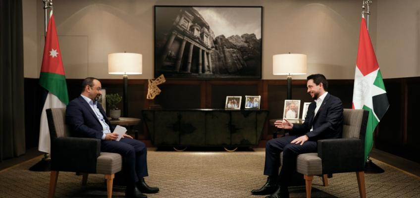 Crown Prince speaks to Jordan Television in interview