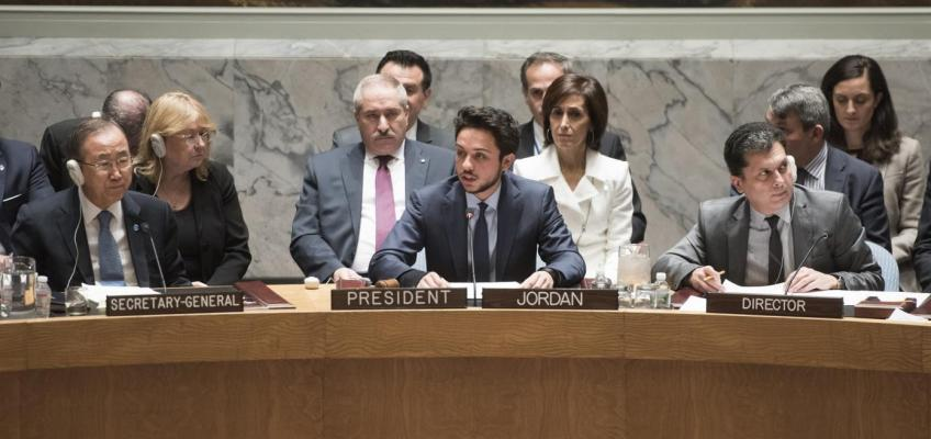 Speech: HRH Crown Prince Al Hussein Bin Abdullah at the United Nations Security Council