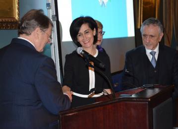 Crown Prince initiative wins award in New York