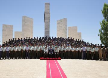 Regent attends Royal Jordanian Command and Staff College graduation